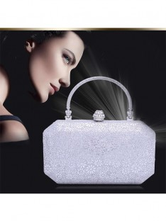 Mode Faux diamants Princess Fête/Soir Sacs B72018JC